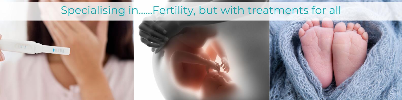 specialising in fertility